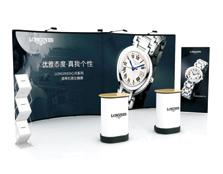 鹰牌展架为LONGINES手表制作品牌活动、展览展示解决方案