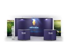 鹰牌展架为万科地产制作会议活动、展览展示解决方案