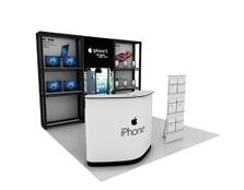 鹰牌展架为iPhone电子制作广告促销、商品陈列解决方案